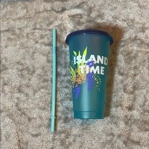 Starbucks Hawaii Island Time turtle cold cup